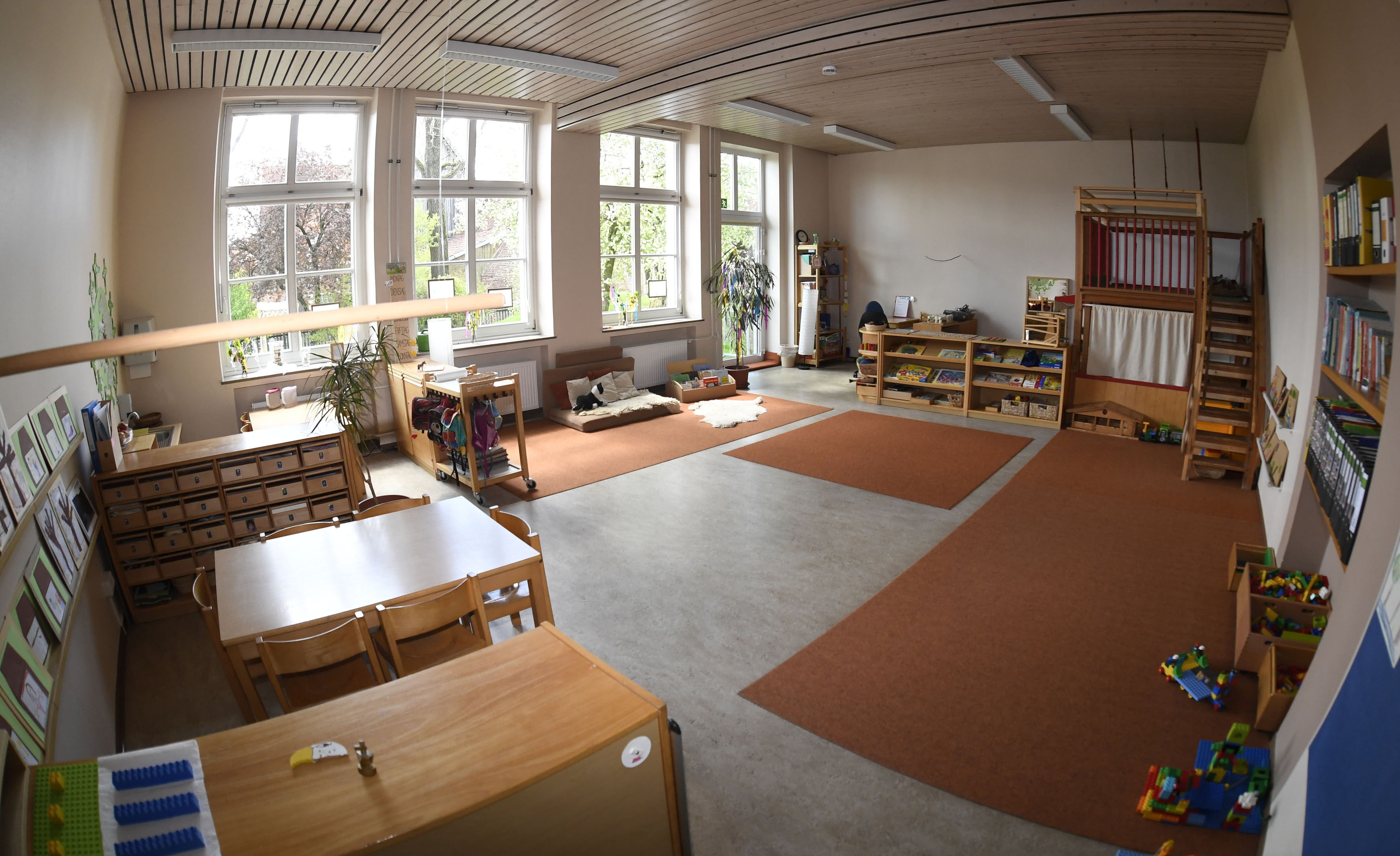 R ume und spielbereiche unsere kita kindergarten st for Raumgestaltung kita